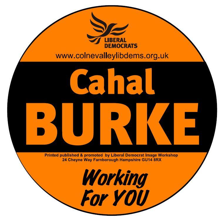 Councillor Cahal Burke