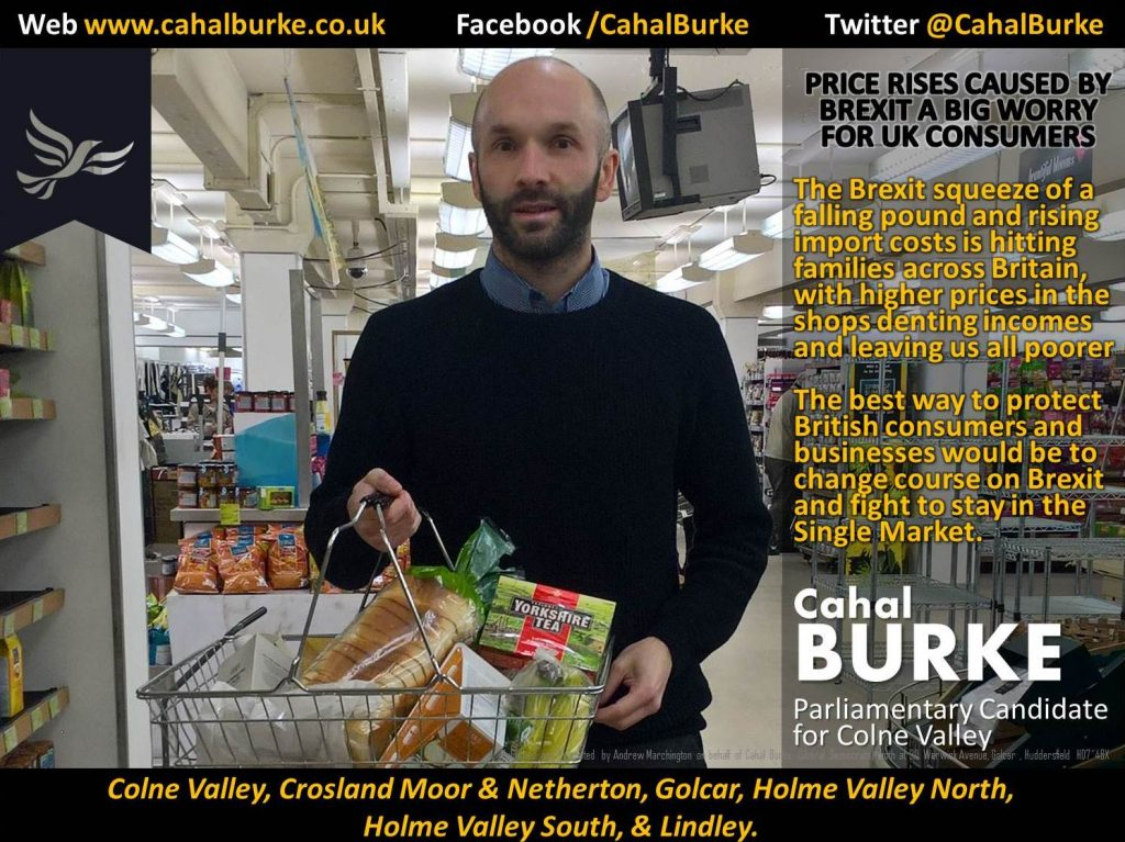 Cahal Burke (Liberal Democrat Parliamentary Candidate for the Colne Valley),